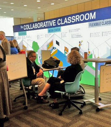 Steam Symposium The Collaborative Classroom Booth
