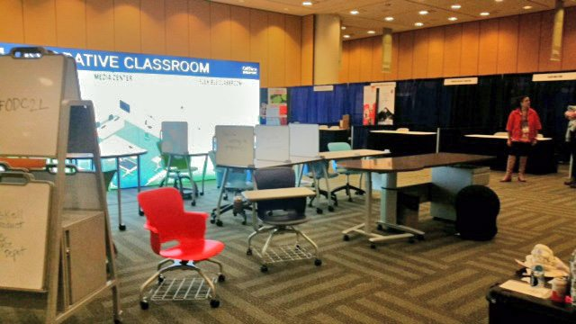 Haskell Active Classroom Seating, Sit to Stand, and Marker Easelboards at the STEAM Symposium