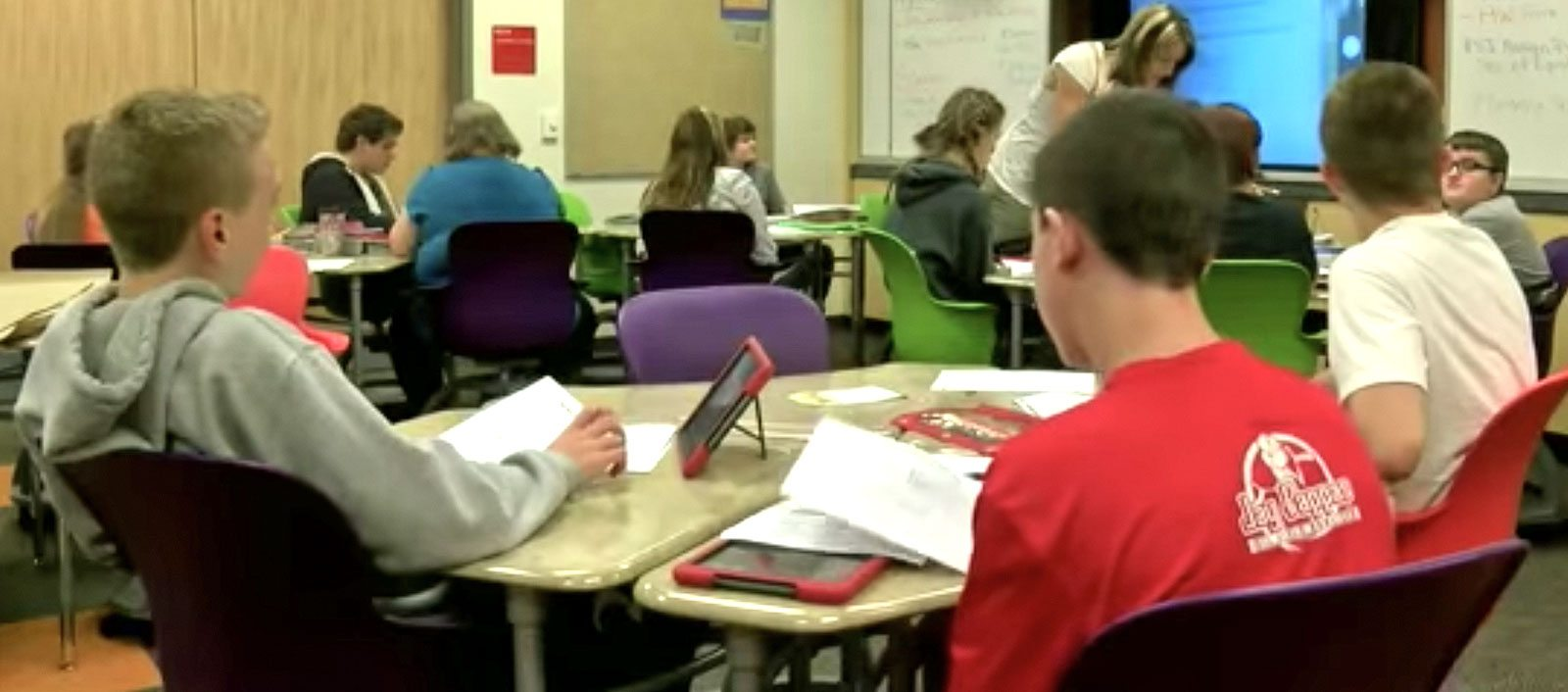 Haskell furniture is a part of high tech learning at Beaver Local Schools